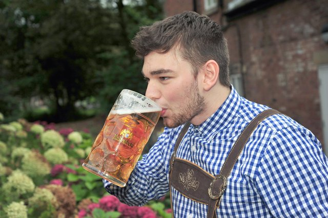Three Oktoberfest events could be held in Southsea next month. Pictured: The Haigh Oktoberfest, at Haigh Woodland Park, Wigan.