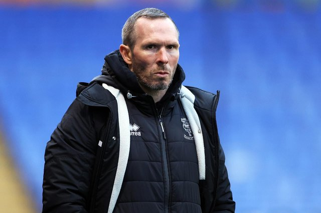 Lincoln boss Michael Appleton.  Picture: Naomi Baker/Getty Images