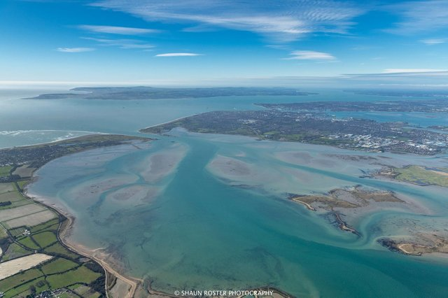 The Portsmouth Climate Action Board believes a culture shift is needed to make real change to tackle the climate emergency. A view over Hayling Island looking SW over Langstone Harbour towards Portsmouth, Southsea and the Isle of Wight. Picture: Shaun Roster