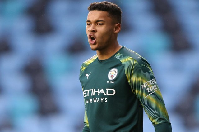 Gavin Bazunu is closing on a loan move to Pompey. Picture: Charlotte Tattersall/Getty Images