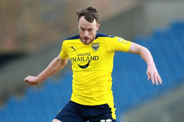 Oxford goal hero Sam Long.  Picture:  David Rogers/Getty Images