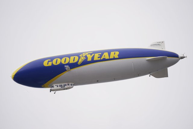 The Goodyear Blimp will be flying over Portsmouth on Thursday. Picture: Yui Mok/PA Wire
