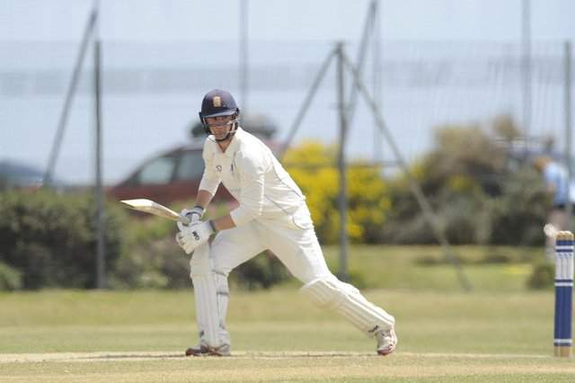 Ben Duggan scored 104 for Portsmouth in their SPL Division 1 victory at Sarisbury. Picture: Ian Hargreaves