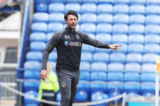 Danny Cowley is set to be named as a long-term Pompey boss imminently. Picture: Joe Pepler