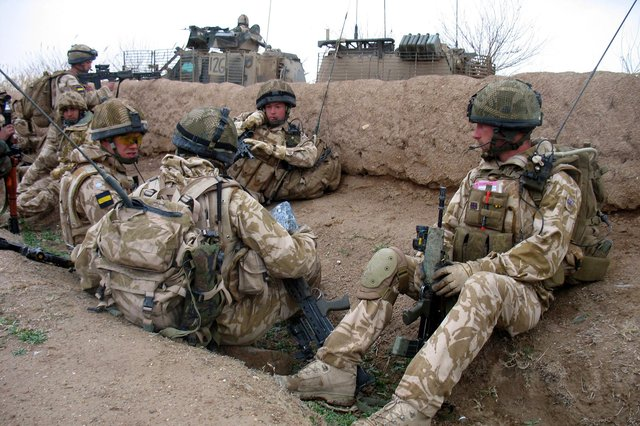 Soldiers from 2PWRR pictured on operations in Afghanistan. Photo: Army.