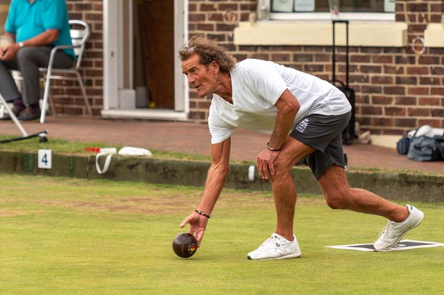 Alexandra Bowling Club's Steve Feilder saw his rink claim a huge win in their latest City Division fixture against Pembroke Gardens. Picture: Andrew Hurdle