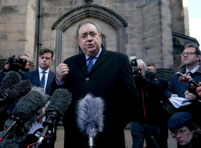 Alex Salmond could sue Nicola Sturgeon over one angry sentence about the sexual allegations made against him –John McLellan