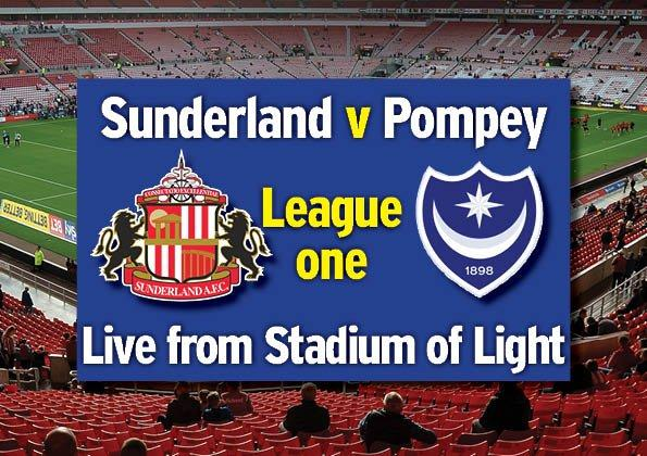 Sunderland 0 Pompey 0: LIVE updates from the League One clash at the Stadium of Light