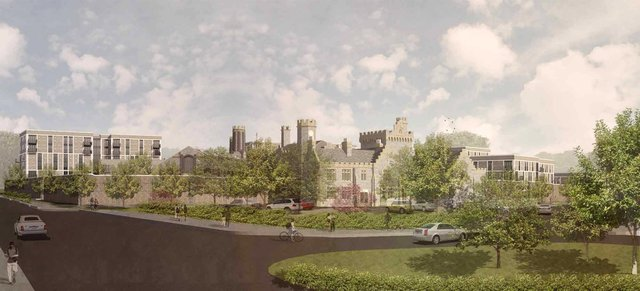 An artist's impression of what Kingston Prison could look like