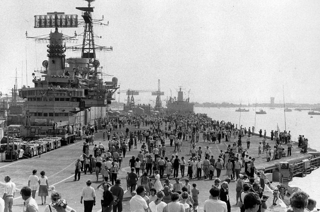Portsmouth Navy Days is packed full of excited people in 1983. The News PP4990