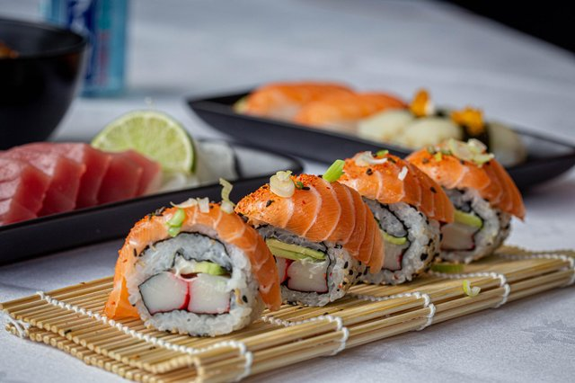 Food at Sushi2ME