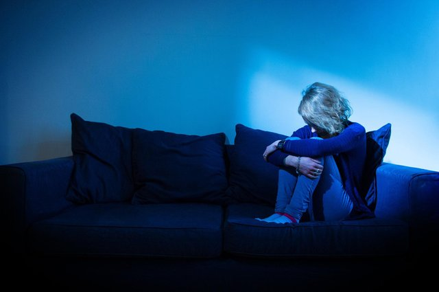 Lockdown could be to blame for a rise in depression and anxiety. Picture: Dominic Lipinski