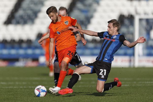 Pompey face Rochdale today at Fratton (Photo by Daniel Chesterton/phcimages.com)