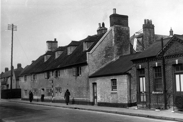 Havant workhouse in Union Road, 1935. It was demolished in 1947. Picture: The News PP5275