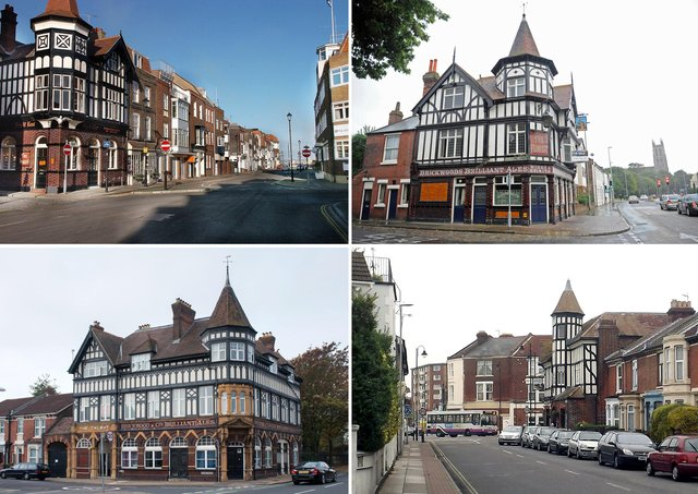 Can you name these pubs?