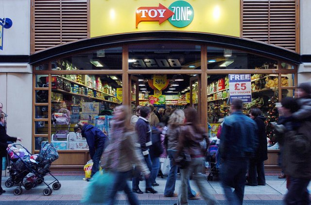Can you remember the Toyzone store in Gunwharf Quays?
