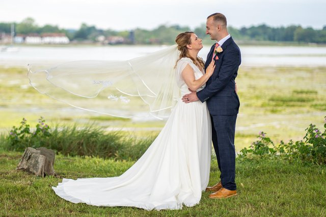 Paige and Lee Topping. Picture: Carla Mortimer Photography
