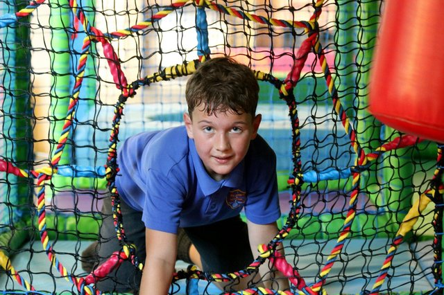 Inside the soft play area at St Margaret's Church. Picture: Courtesy of Church of England Diocese of Portsmouth