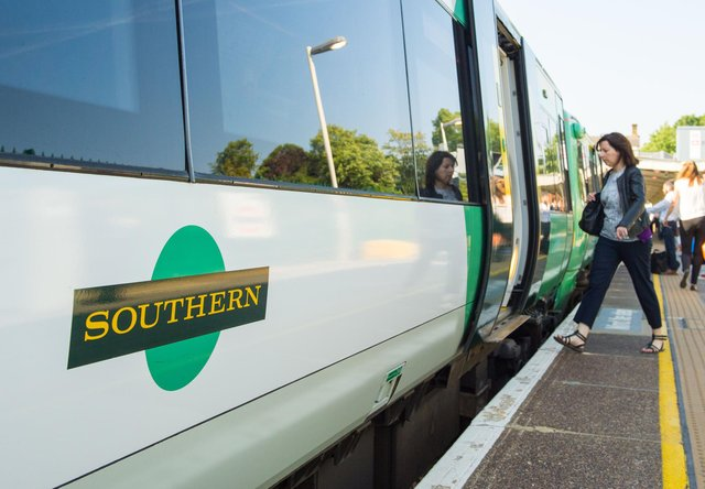 Southern Rail services between Southampton Central and Havant have been disrupted this morning. Dominic Lipinski/PA Wire