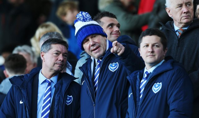 Andy Cullen insists chairman Michael Eisner and Tornante president Andy Redman are not looking to sell Pompey. Picture: Joe Pepler