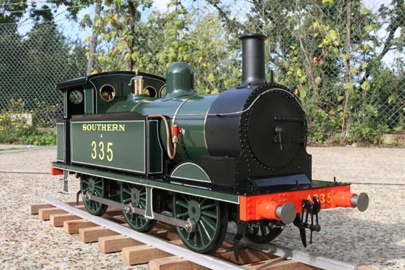 The burglars stole a model train like this - worth £6,000.