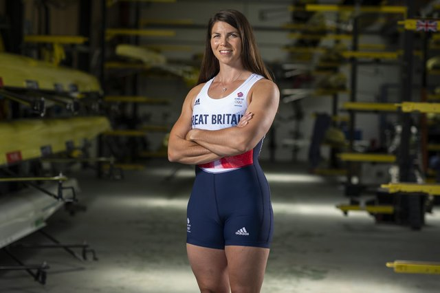 Former Crofton School pupil Rebecca Muzerie will make her Olympic debut next month. Photo by Justin Setterfield/Getty Images for British Olympic Association.