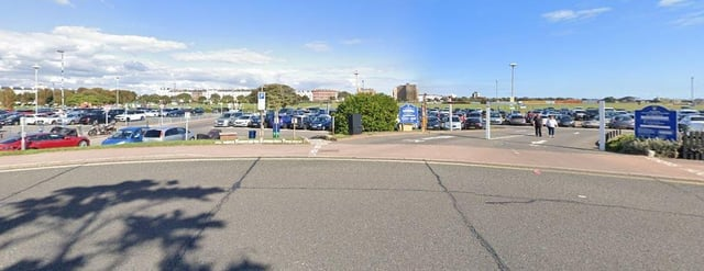Seafront The Esplanade Car Park. Pic: Google