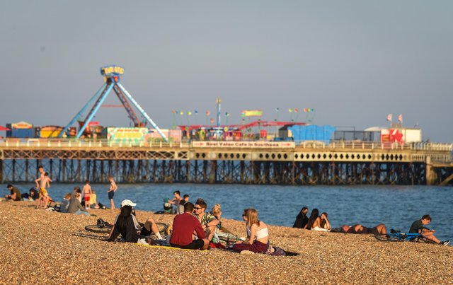 Knebworth141 from London had high praise for Southsea beach. They wrote: 'Excellent Beach with ample parking and none of the crowds. Have fantastic couple of days here. Everyone enjoyed it. Definitely worth a visit if your putting it off.' (Photo by Finnbarr Webster/Getty Images)