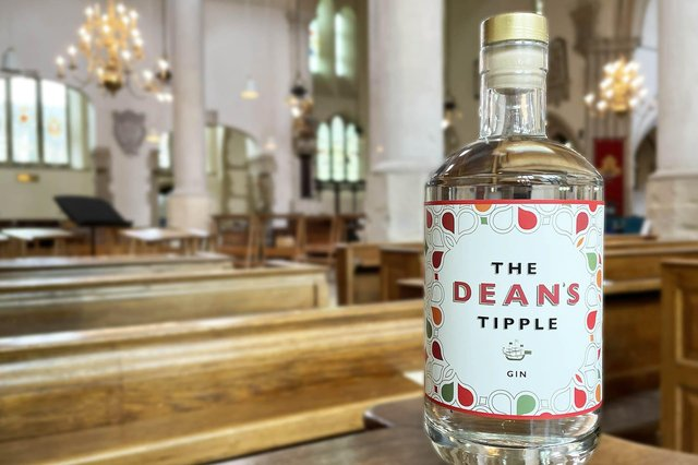 The new gin - The Dean's Tipple