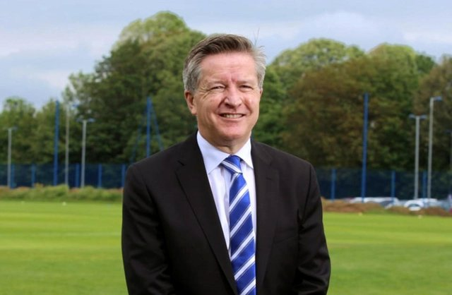 New Pompey chief executive Andy Cullen's arrival has coincided with two major Pompey investment announcements. Picture: Habib Rahman