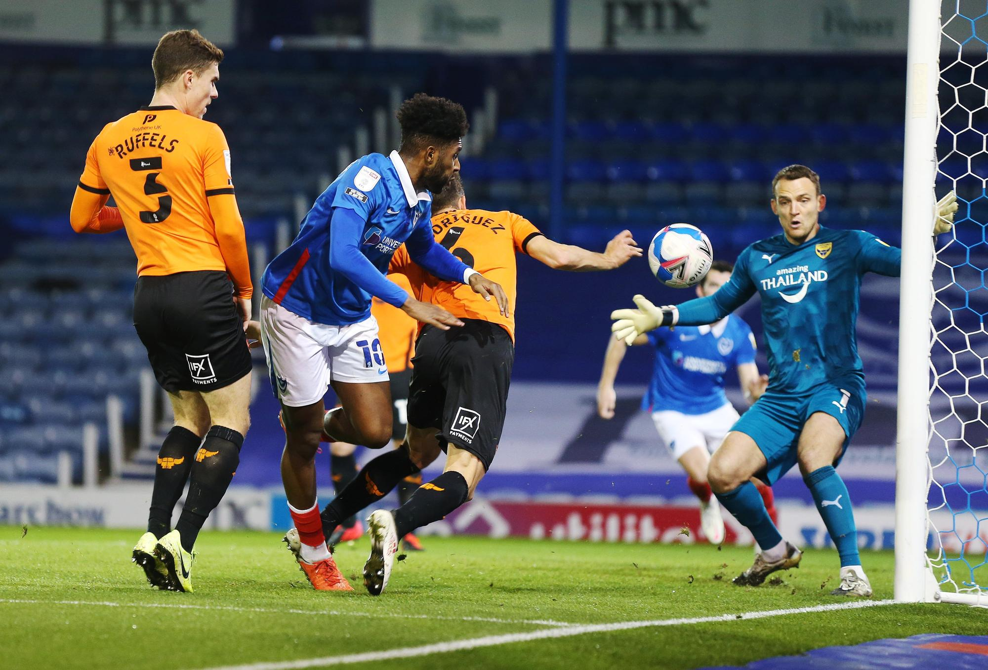 'Strong and assured... developing into key player... not involved enough' - Neil Allen's Pompey match ratings