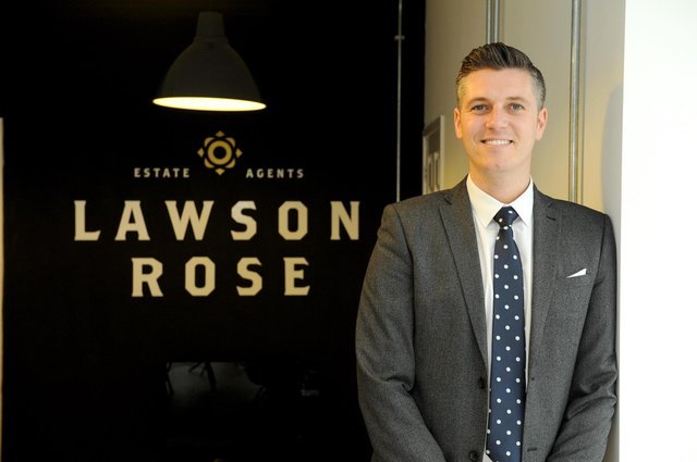 Lawson Rose Estate agents in Southsea, set up by Chris Bull. Picture: Paul Jacobs (151694-7)