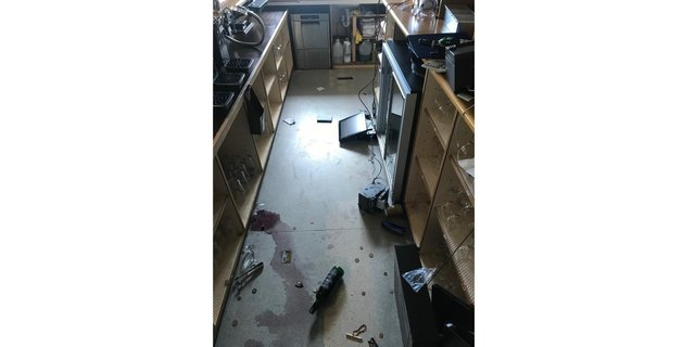 The Lee-On-The-Solent Golf Club has suffered a break-in that has caused more than £1,000 in damage.