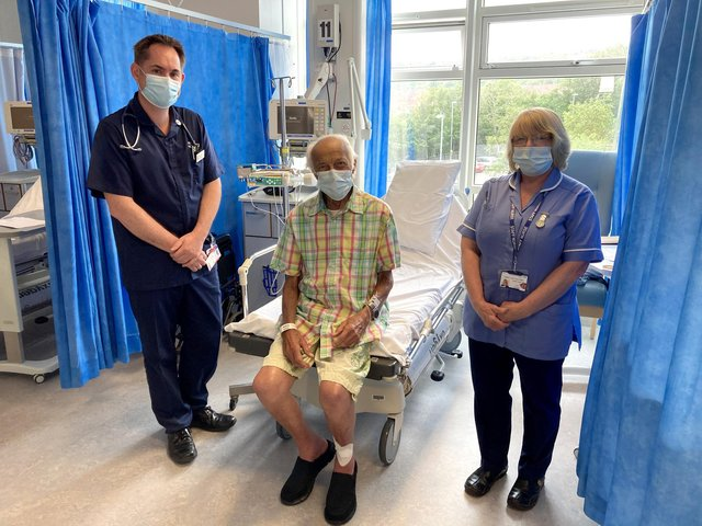 Rock 'n' roll veteran Russ Sainty, has released an album to raise money for the cardiology department at Queen Alexandra Hospital Picture: Portsmouth Hospitals University NHS Trust