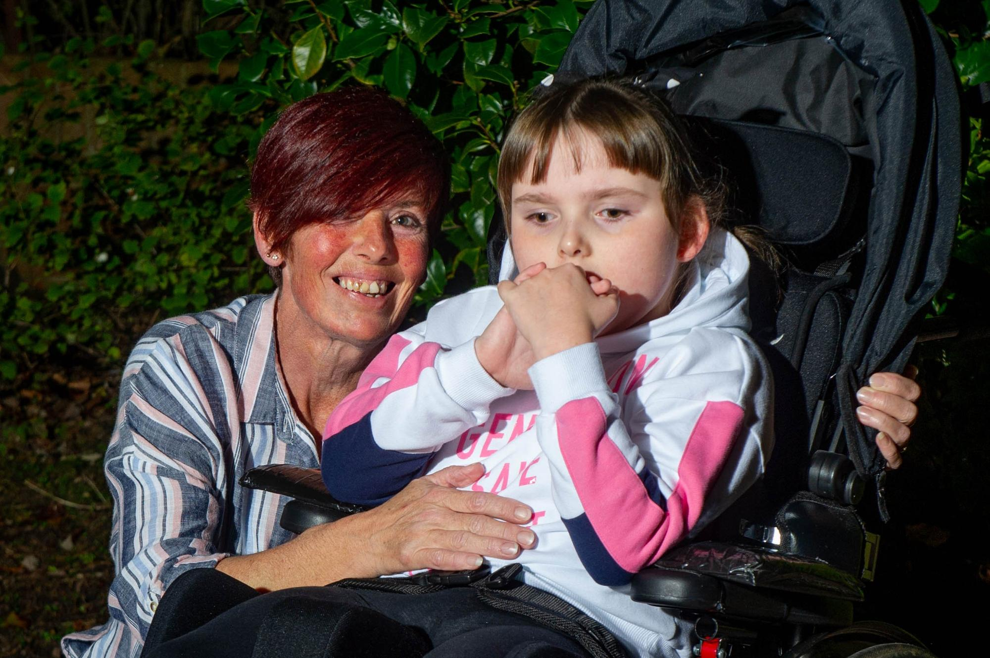 Appeal launched to help 'exceptional' seven-year-old girl with cerebral palsy learn to walk