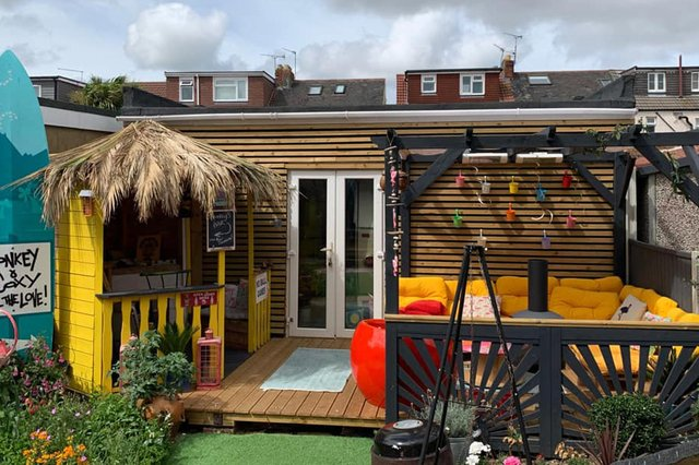 Charlotte Crotty, from Copnor, submitted this picture of her colourful home bar.