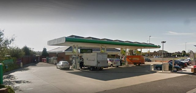 The BP garage in Portchester. Picture: Google Maps
