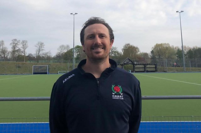 James Morris, Head Coach of Havant Hockey Club
