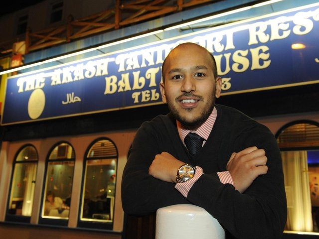 Faz Ahmed manager at The Akash will appear on a Channel 5 show on Saturday, November 7. Picture: Paul Jacobs/The News