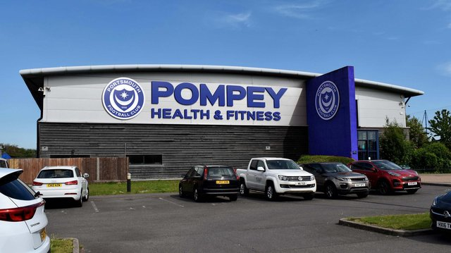 An artist's impression of how Roko will look after Pompey bought their training facility