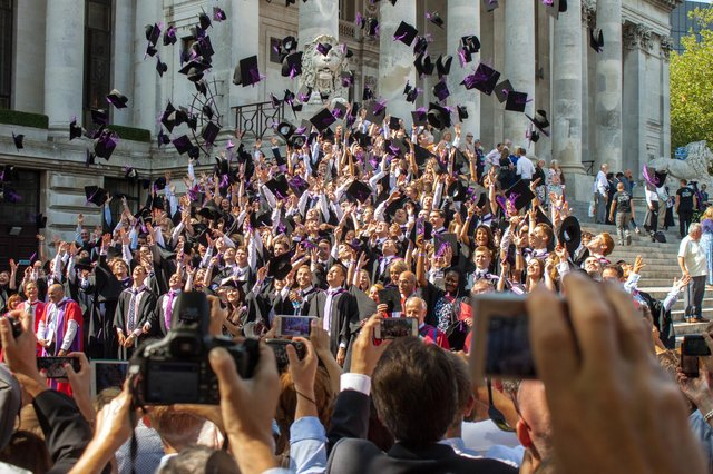 The University of Portsmouth has revealed plans for live graduation events to take place this summer.  Picture: Melanie Leininger (142225-18)