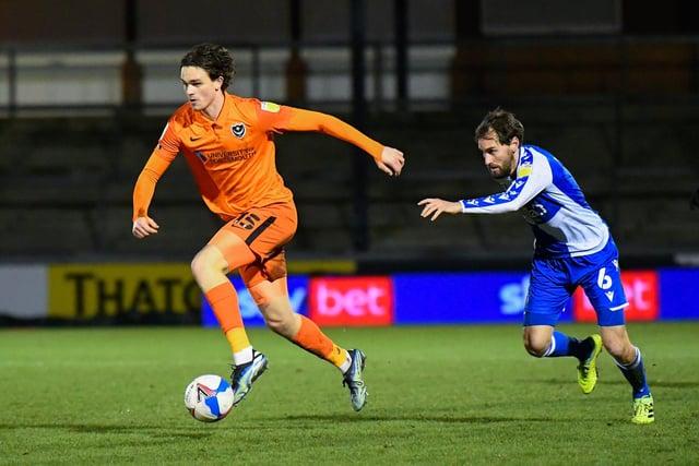 Rasmus Nicolaisen at Bristol Rovers tonight