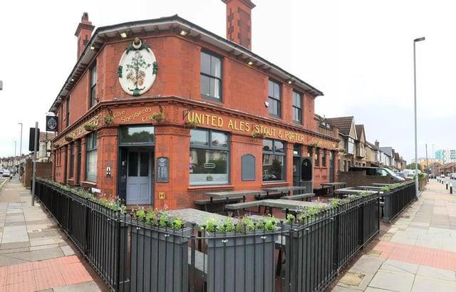 The Shepherd's Crook pub in Goldsmith Avenue, Portsmouth.