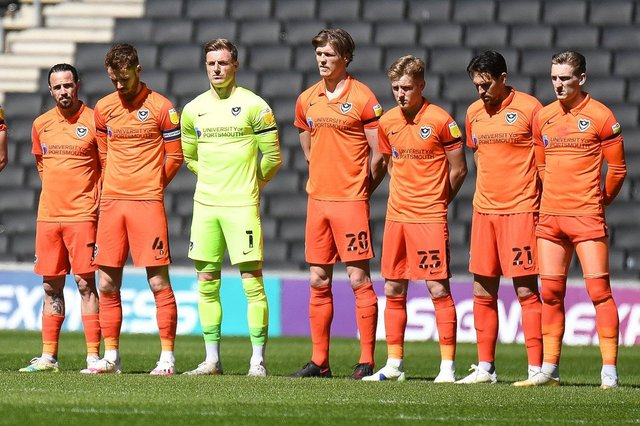 Pompey suffered a 1-0 defeat at the hands of MK Dons