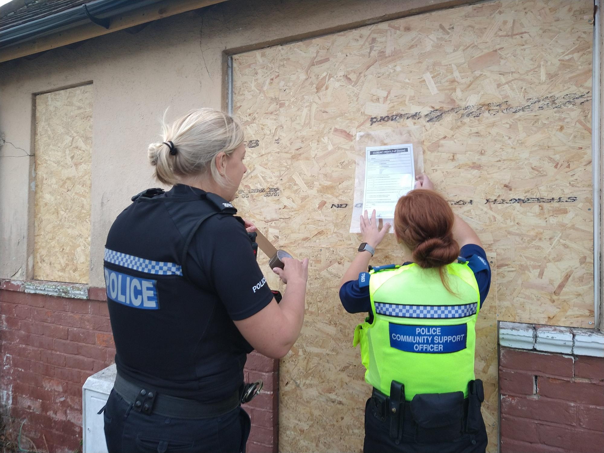 Portchester property closed by police after receiving 90 calls linked to alcohol-related anti-social behaviour this year