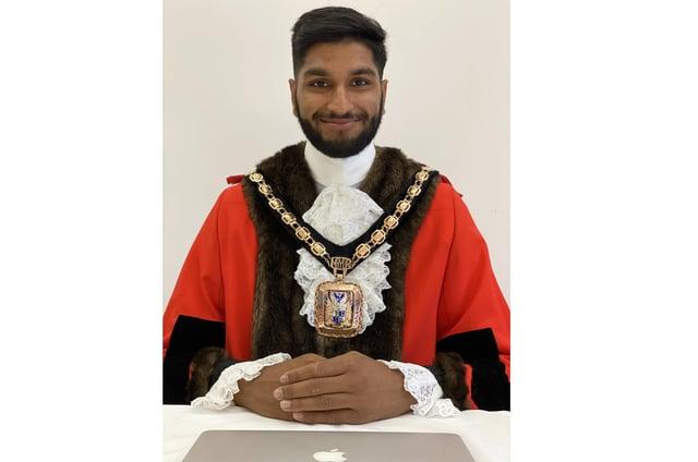 Hart Plain ward councillor Prad Bains is mayor of Havant for the 20/21 term