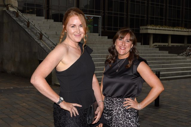 Katie Ware & Michelle Peskett from Ruby Funerals. Picture: Keith Woodland (080721-2)