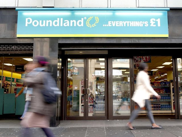Poundland is reopening its 'hibernating' shops in Fareham and Whiteley from next week. Picture: Danny Lawson/PA Wire