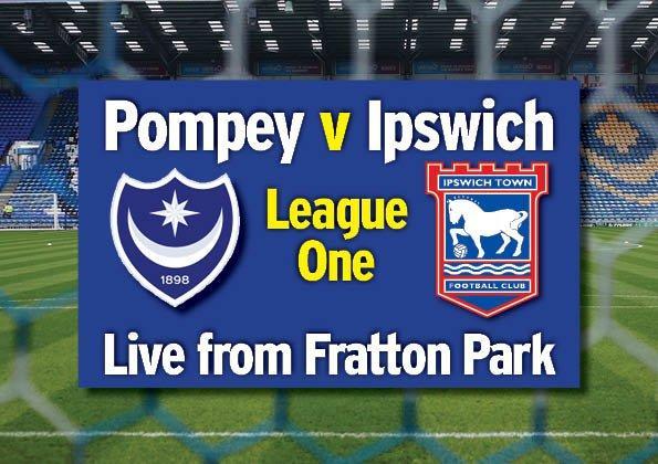 Pompey v Ipswich Town