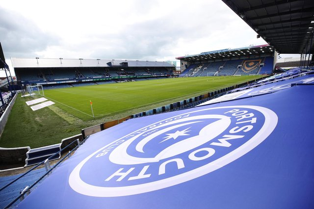 General view of Fratton Park. Picture: Joe Pepler